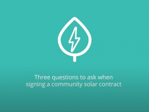 Questions to Ask Before Signing a Community Solar Contract